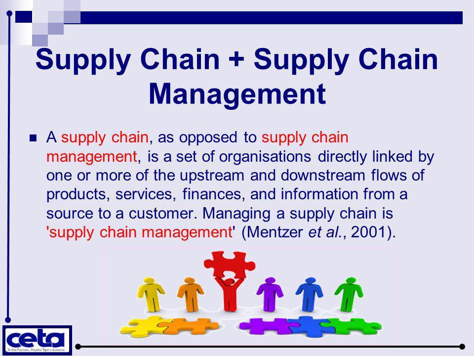 Supply Chain + Supply Chain Management