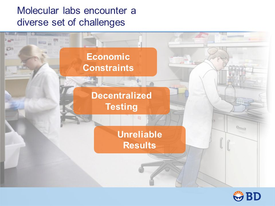 Molecular labs encounter a diverse set of challenges