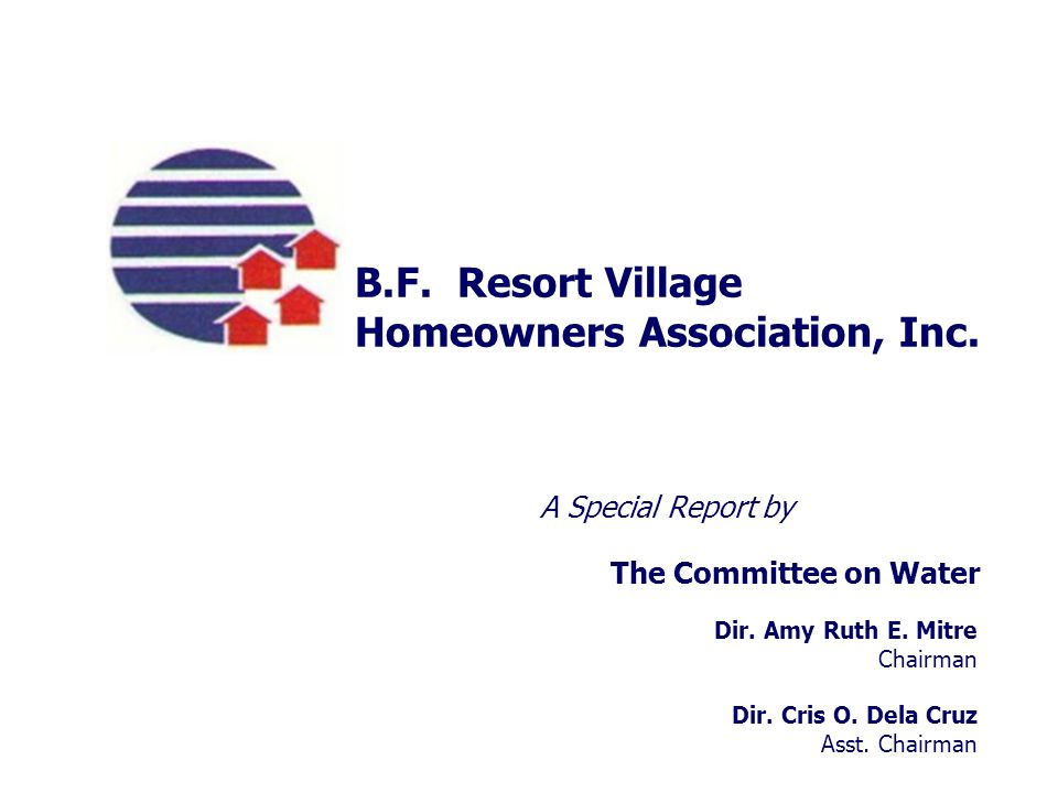 Homeowners Association, Inc.