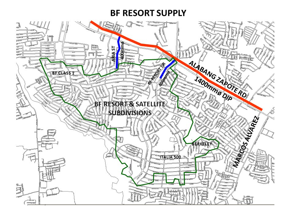 BF RESORT & SATELLITE SUBDIVISIONS