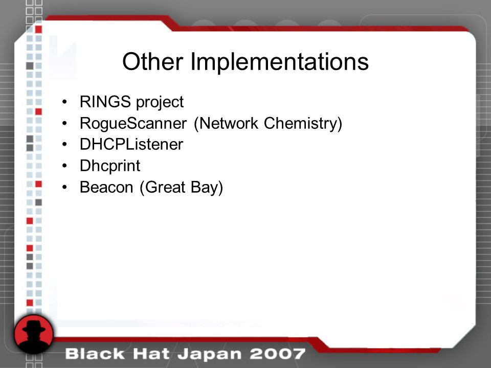 Other Implementations