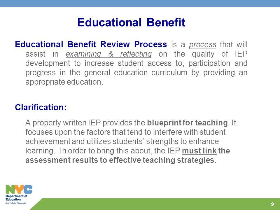 Educational Benefit