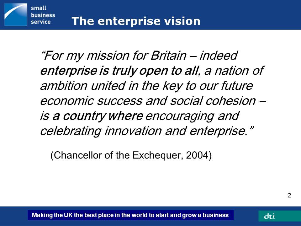 The enterprise vision