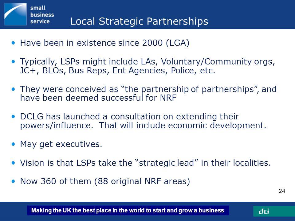 Local Strategic Partnerships