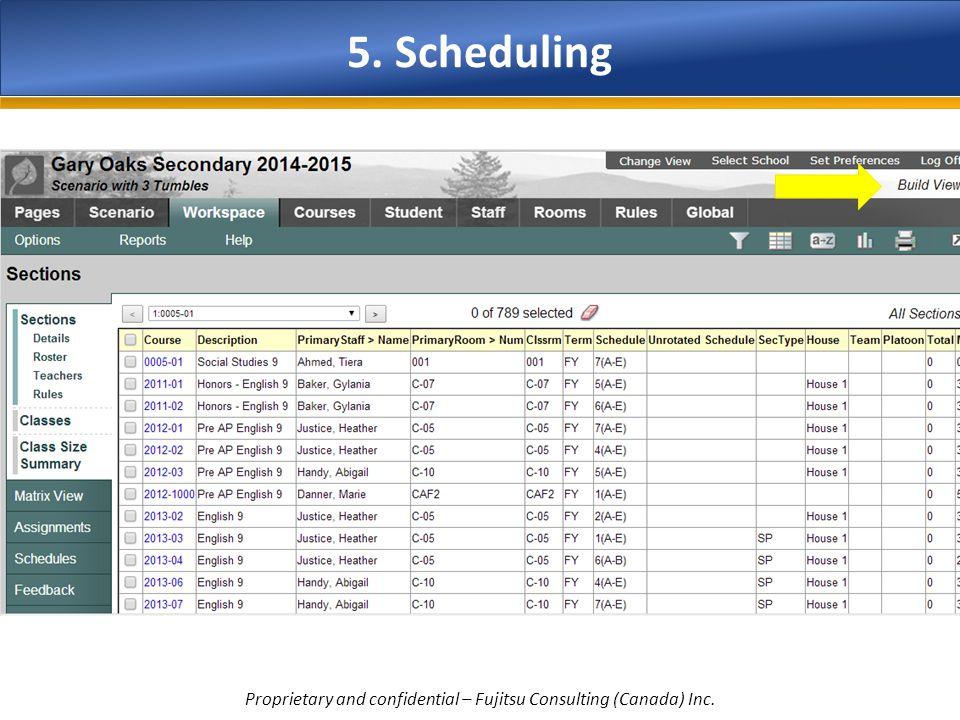 Proprietary and confidential – Fujitsu Consulting (Canada) Inc.