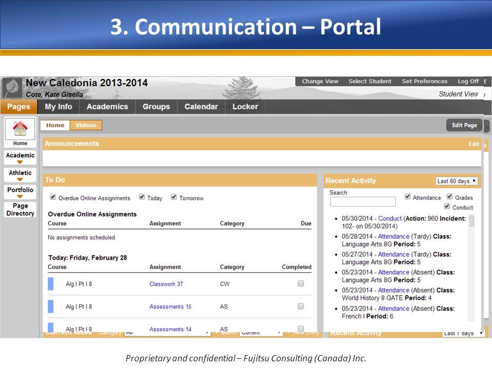 3. Communication – Portal