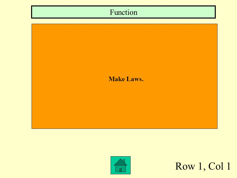 Function Make Laws. Row 1, Col 1