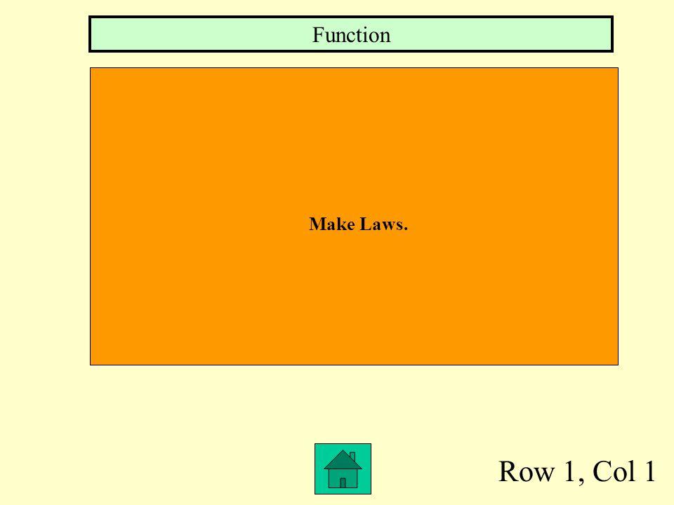 Function Make Laws. Row 1, Col 1