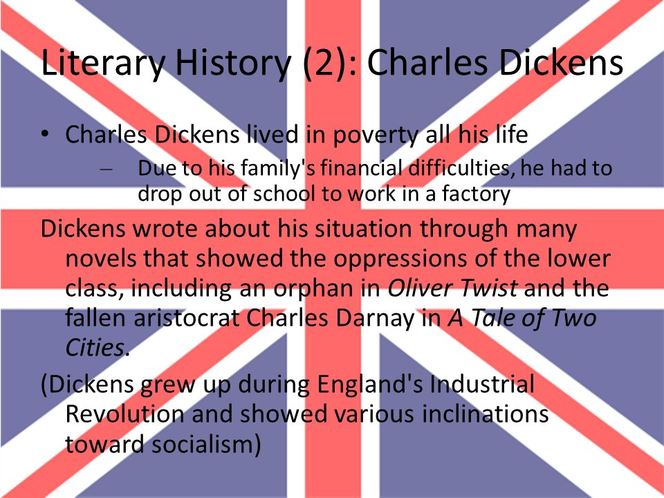 Literary History (2): Charles Dickens