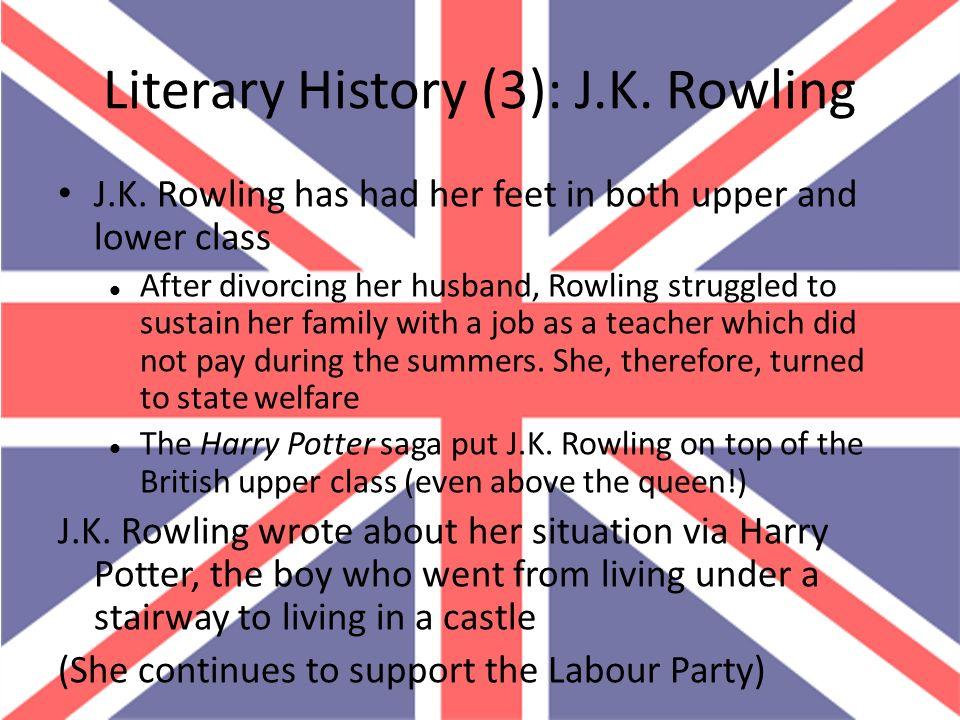 Literary History (3): J.K. Rowling