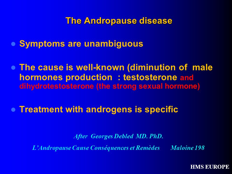 The Andropause disease