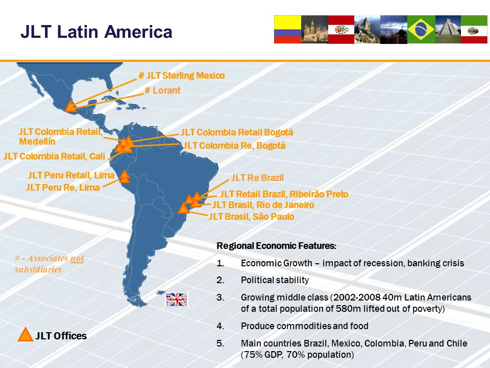 JLT Latin America JLT Offices # JLT Sterling Mexico # Lorant