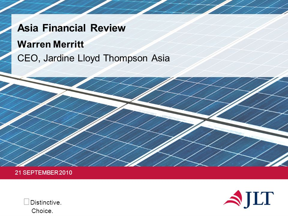Warren Merritt CEO, Jardine Lloyd Thompson Asia
