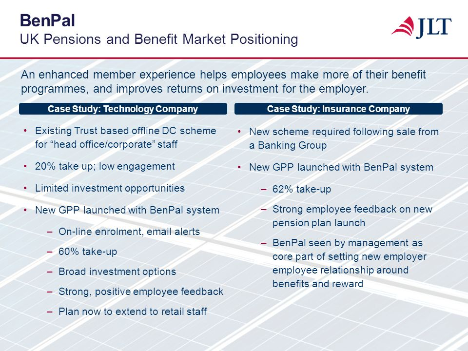 BenPal UK Pensions and Benefit Market Positioning