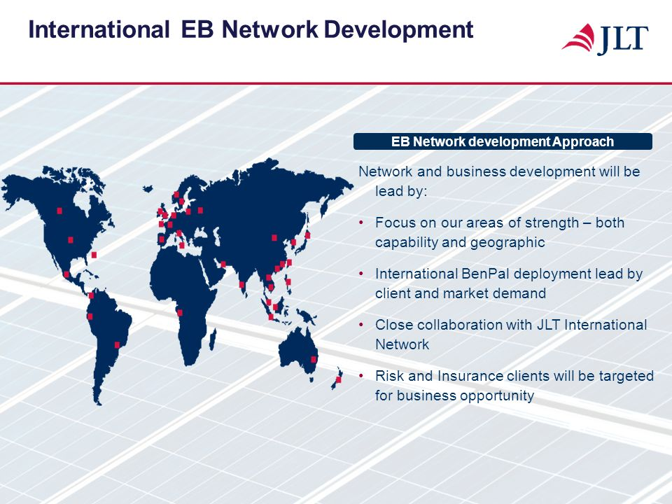 International EB Network Development