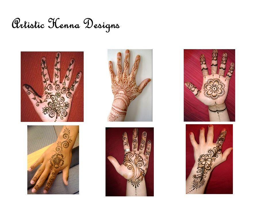 Artistic Henna Designs