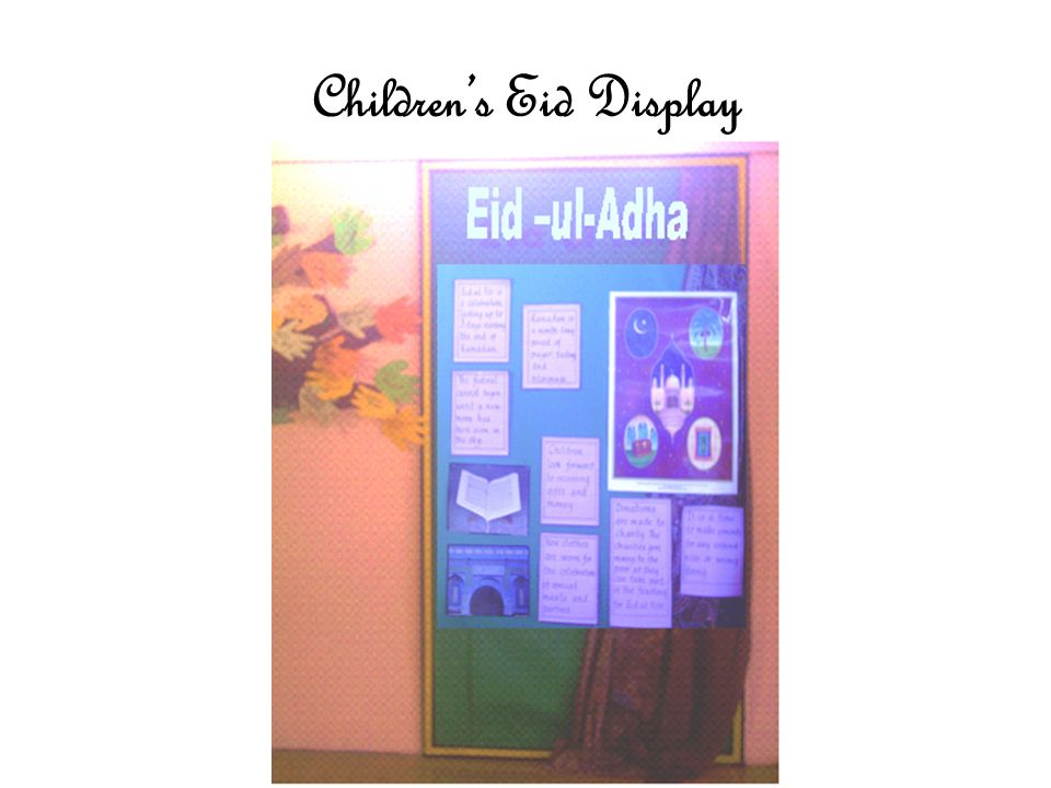 Children's Eid Display