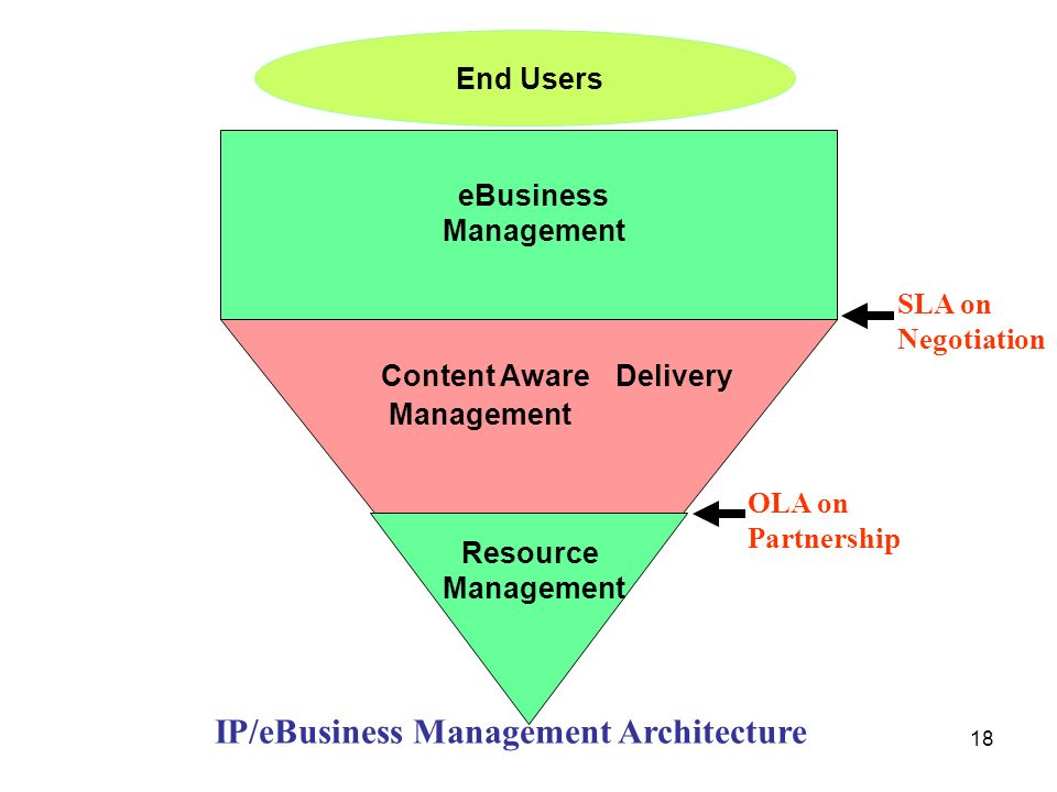 IP/eBusiness Management Architecture