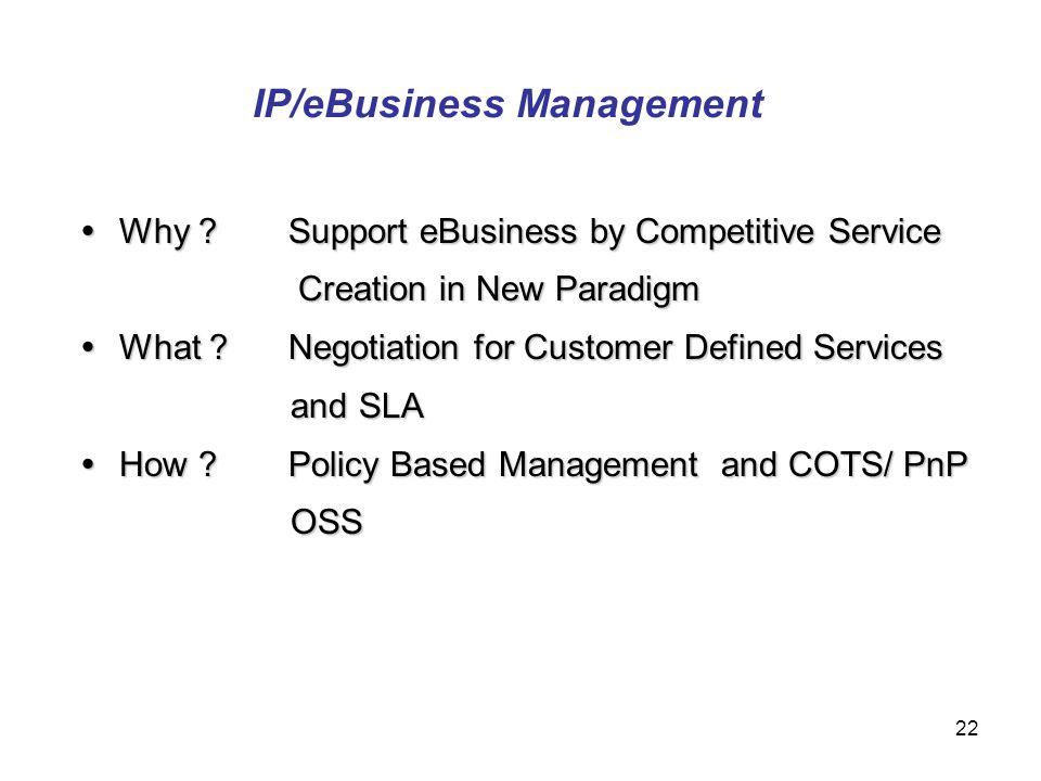 IP/eBusiness Management