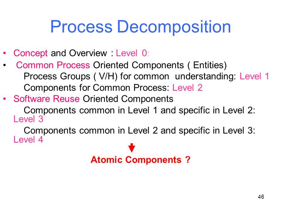Process Decomposition