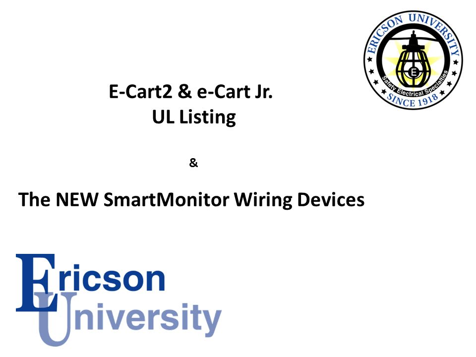 The NEW SmartMonitor Wiring Devices