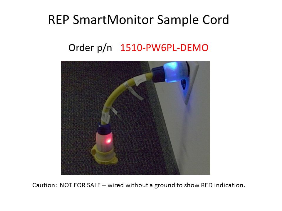 REP SmartMonitor Sample Cord