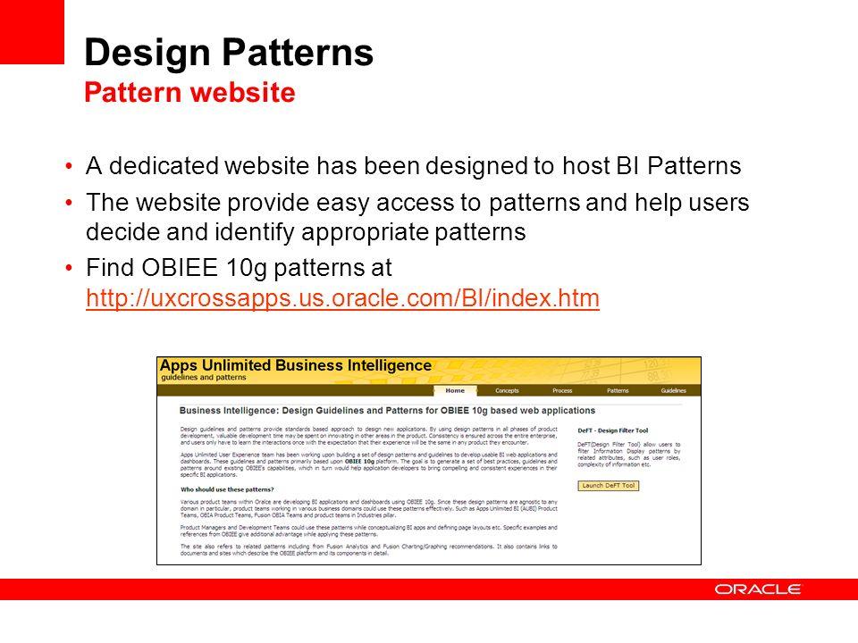 Design Patterns Pattern website