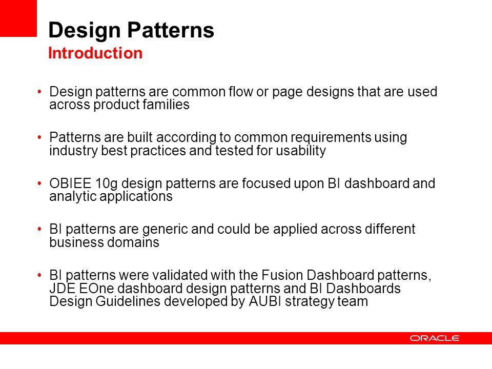Design Patterns Introduction