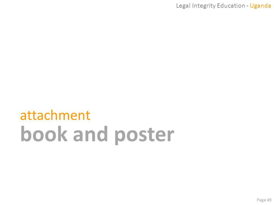Legal Integrity Education - Uganda