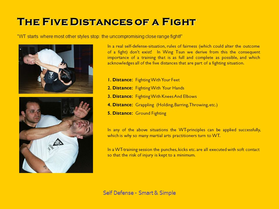 Self Defense - Smart & Simple