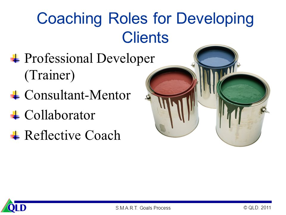Coaching Roles for Developing Clients