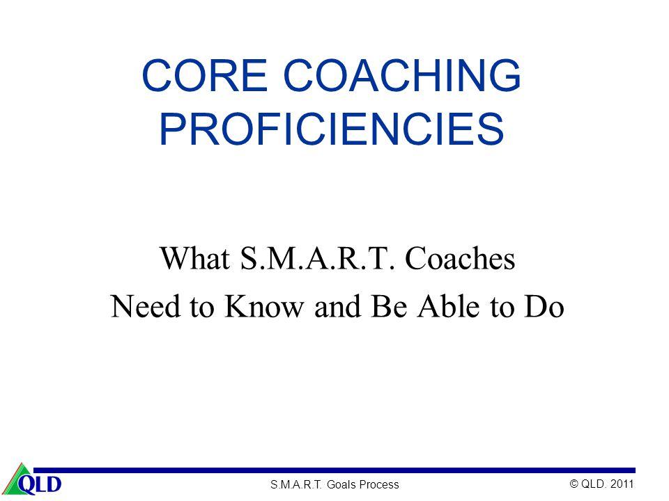 Core Coaching Proficiencies