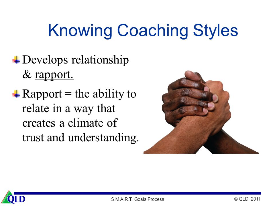 Knowing Coaching Styles