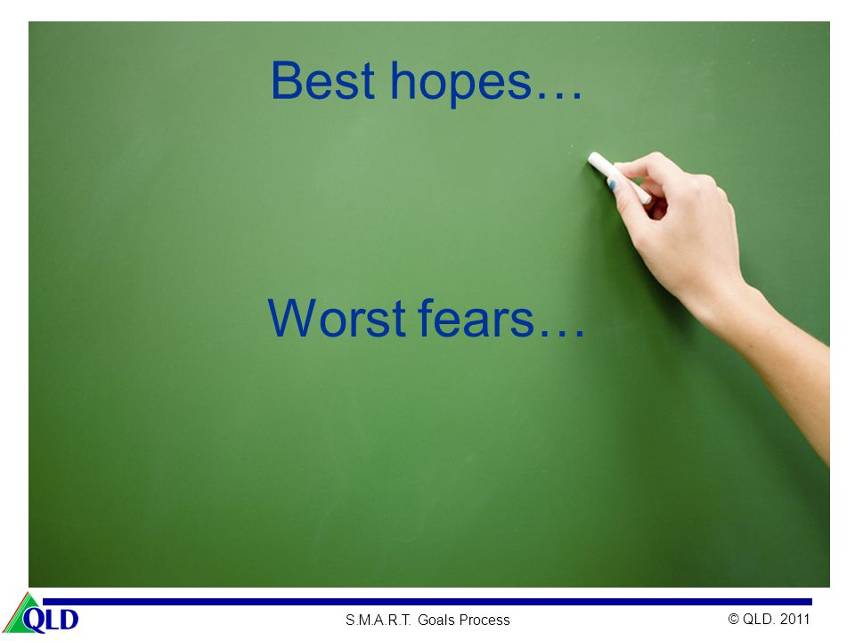 Best hopes… Worst fears…