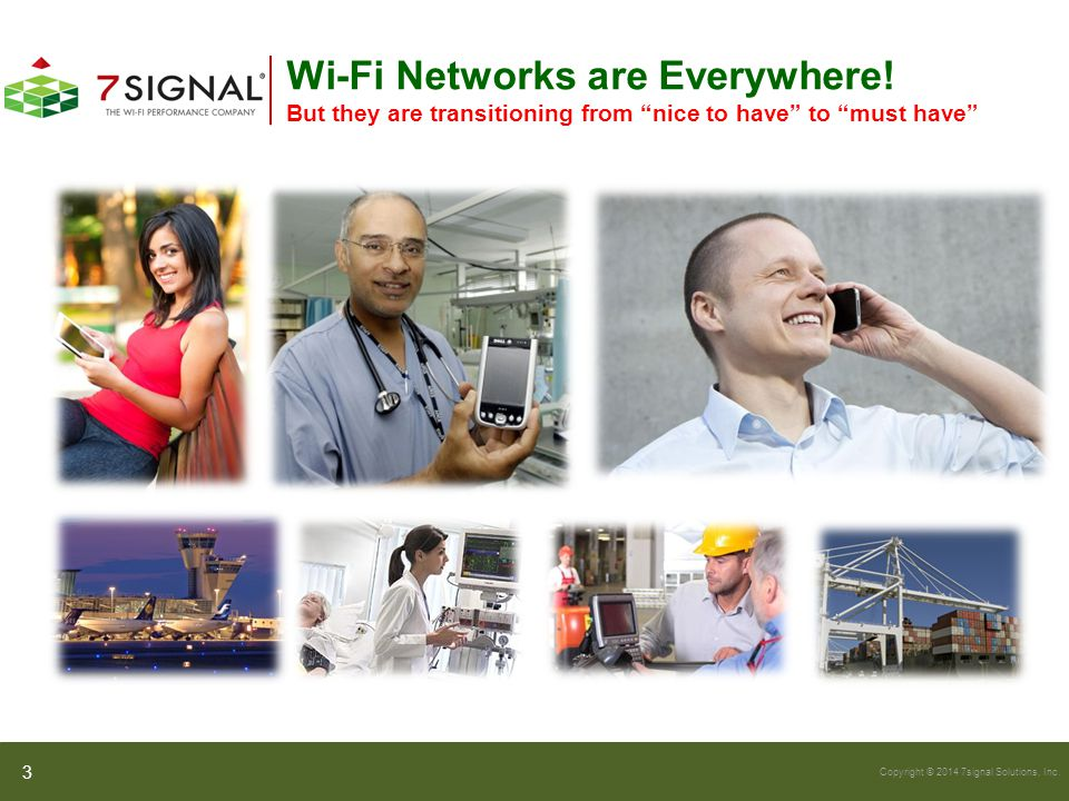 Wi-Fi Networks are Everywhere