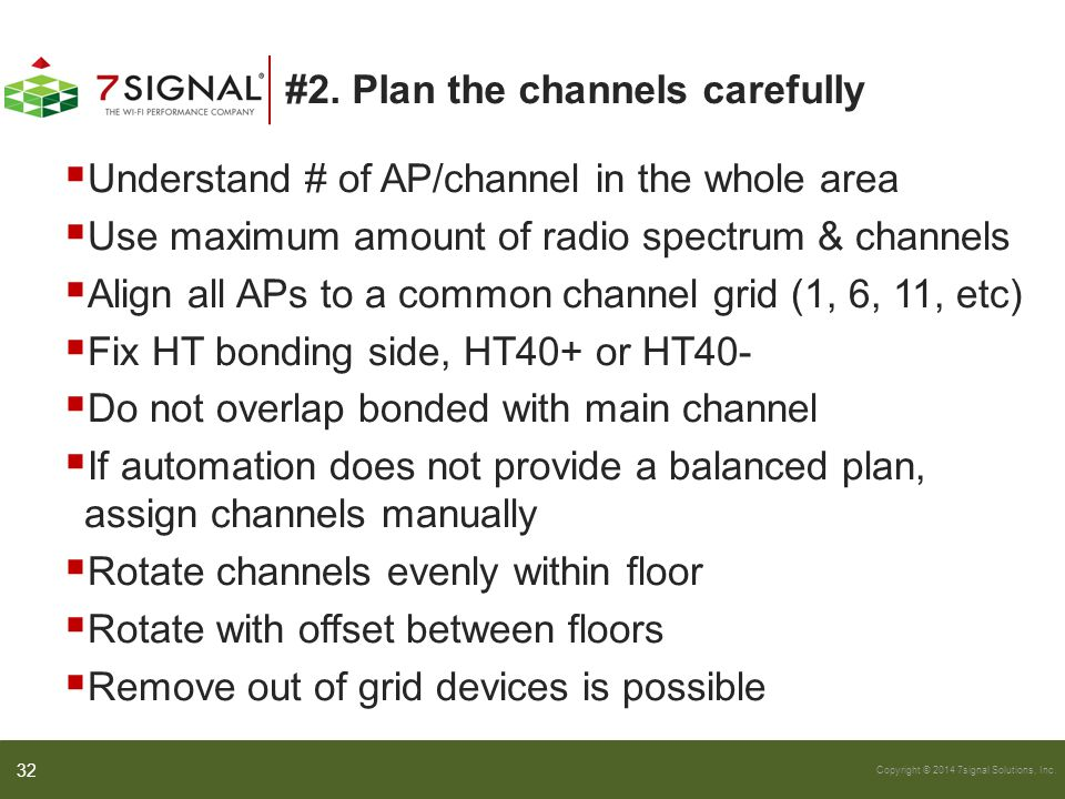 #2. Plan the channels carefully