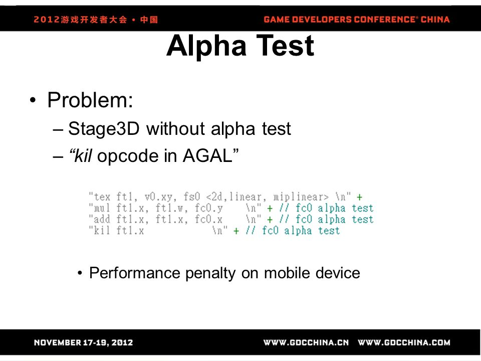 Alpha Test Problem: Stage3D without alpha test kil opcode in AGAL