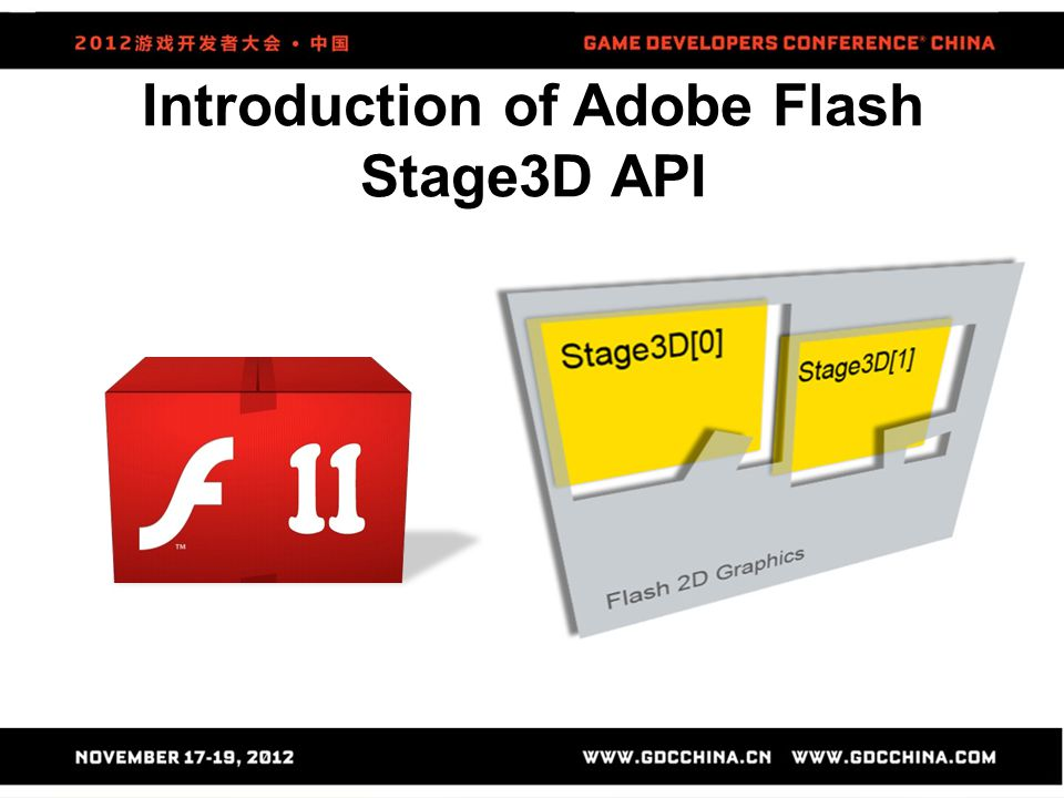 Introduction of Adobe Flash Stage3D API