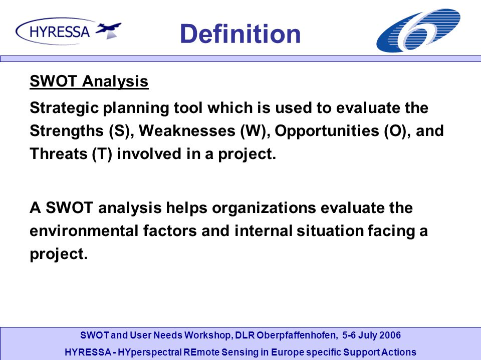 Definition SWOT Analysis