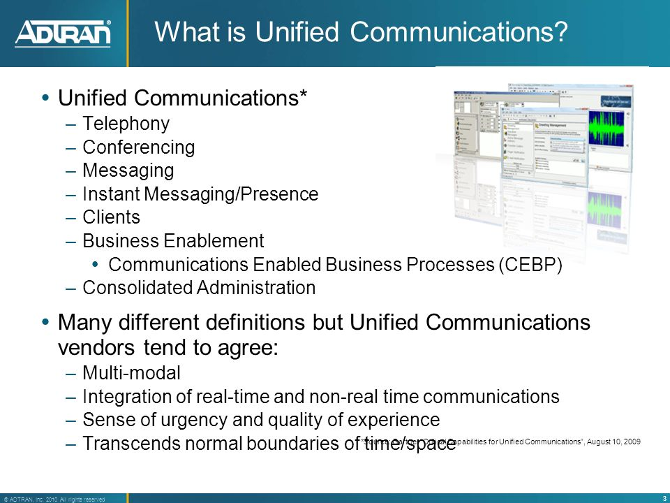 What is Unified Communications
