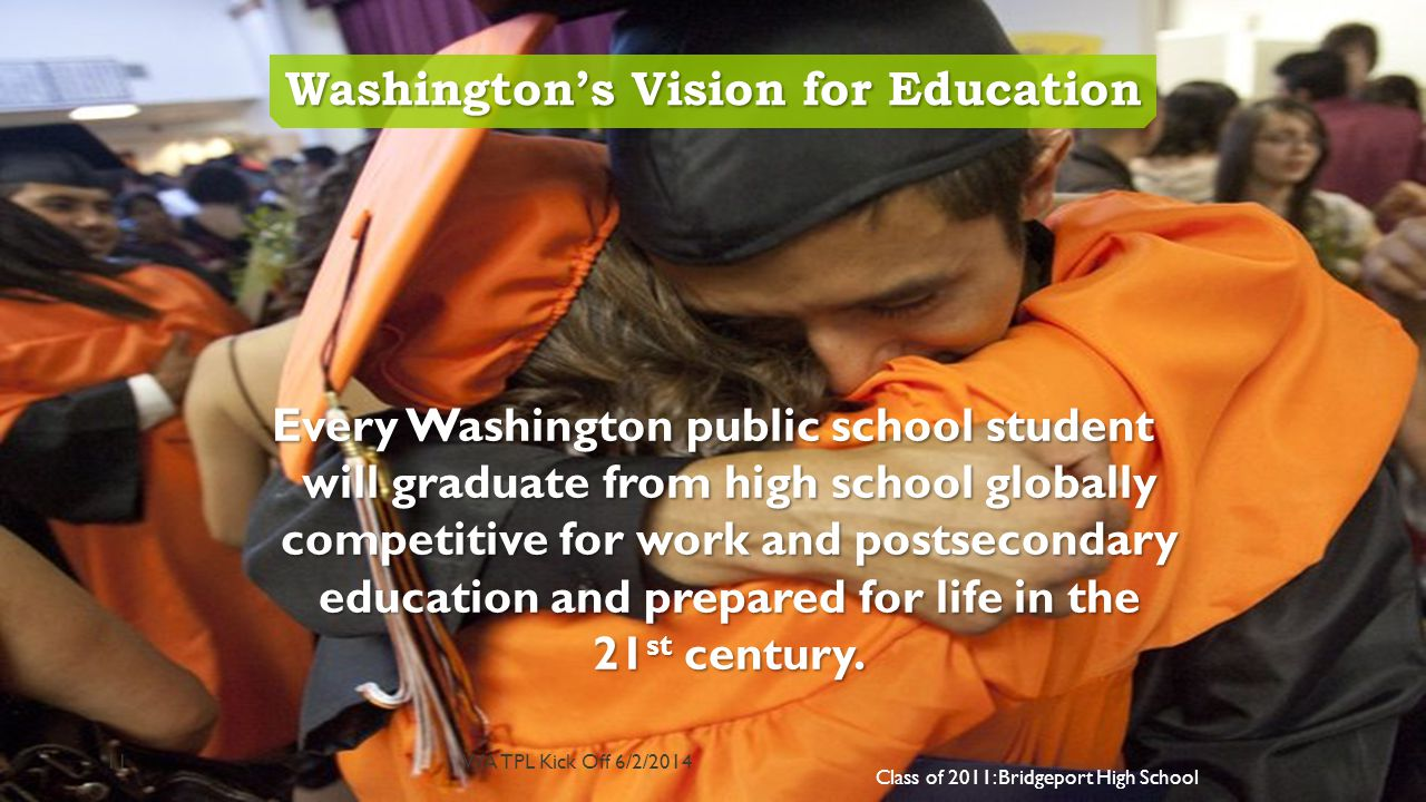 Washington's Vision for Education
