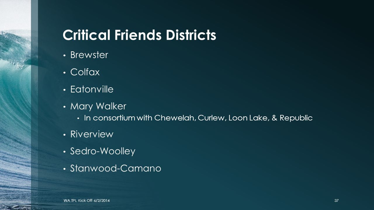 Critical Friends Districts