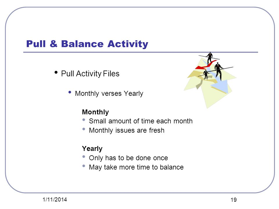 Pull & Balance Activity