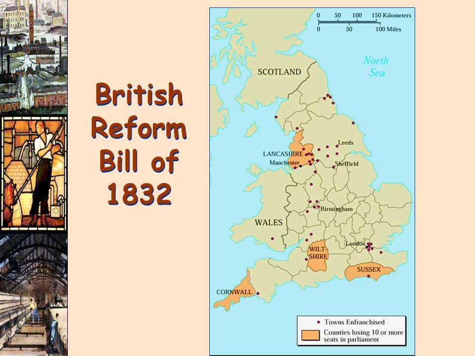 British Reform Bill of 1832