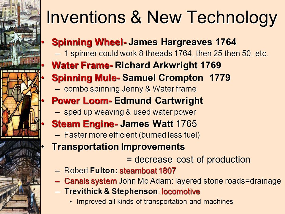 Inventions & New Technology