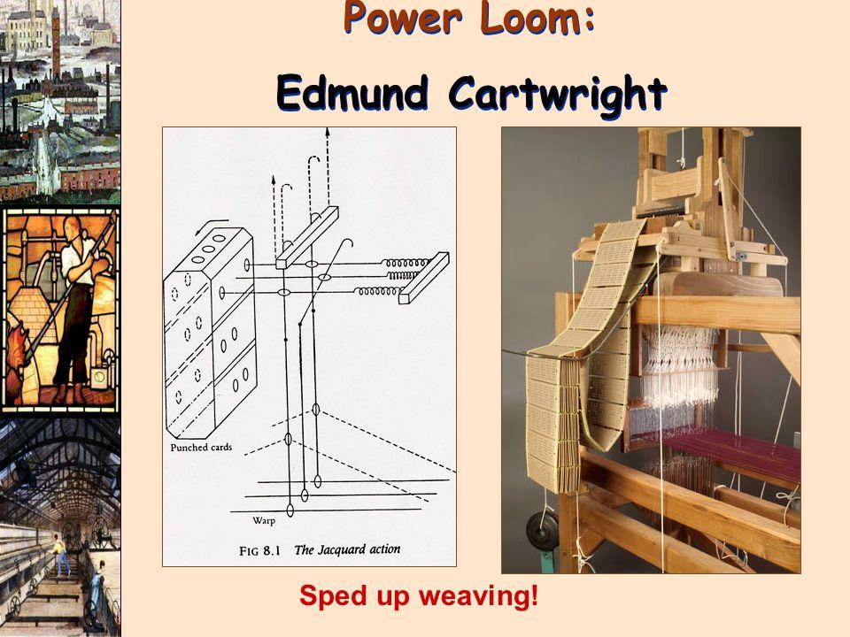 Power Loom: Edmund Cartwright