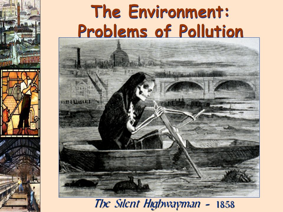 The Environment: Problems of Pollution