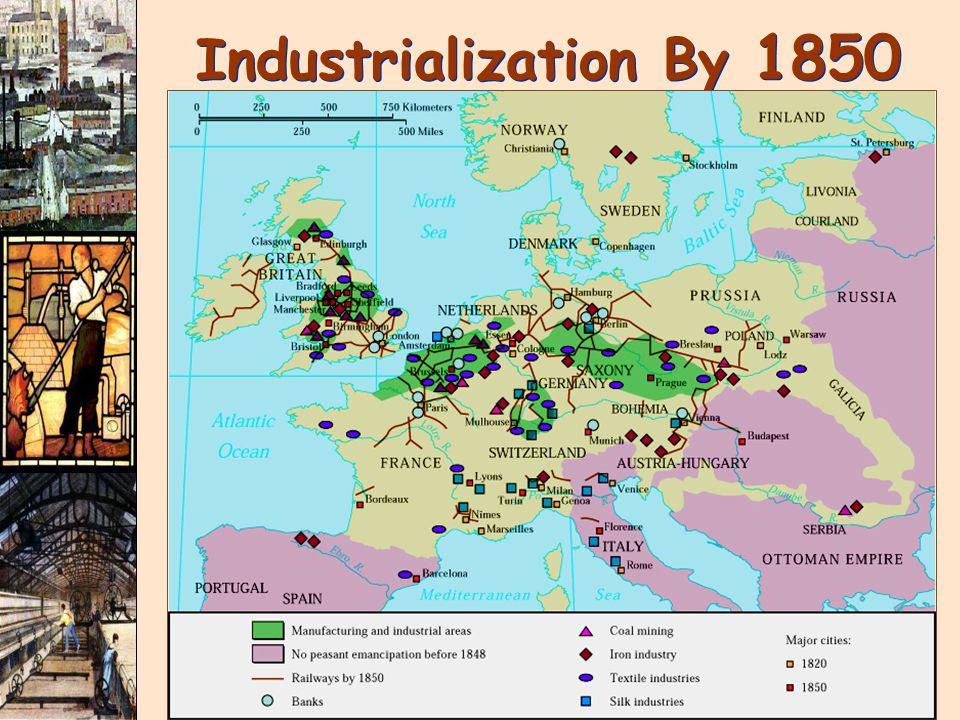 Industrialization By 1850