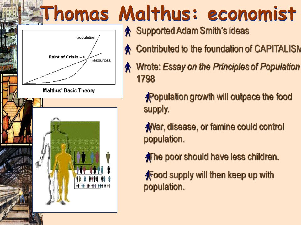 Thomas Malthus: economist