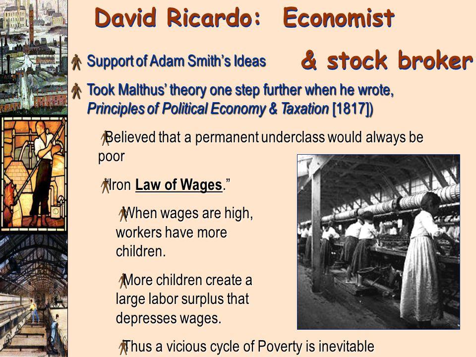 David Ricardo: Economist
